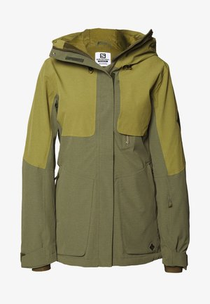 PROOF  - Chaqueta de esquí - olive night/martini olive