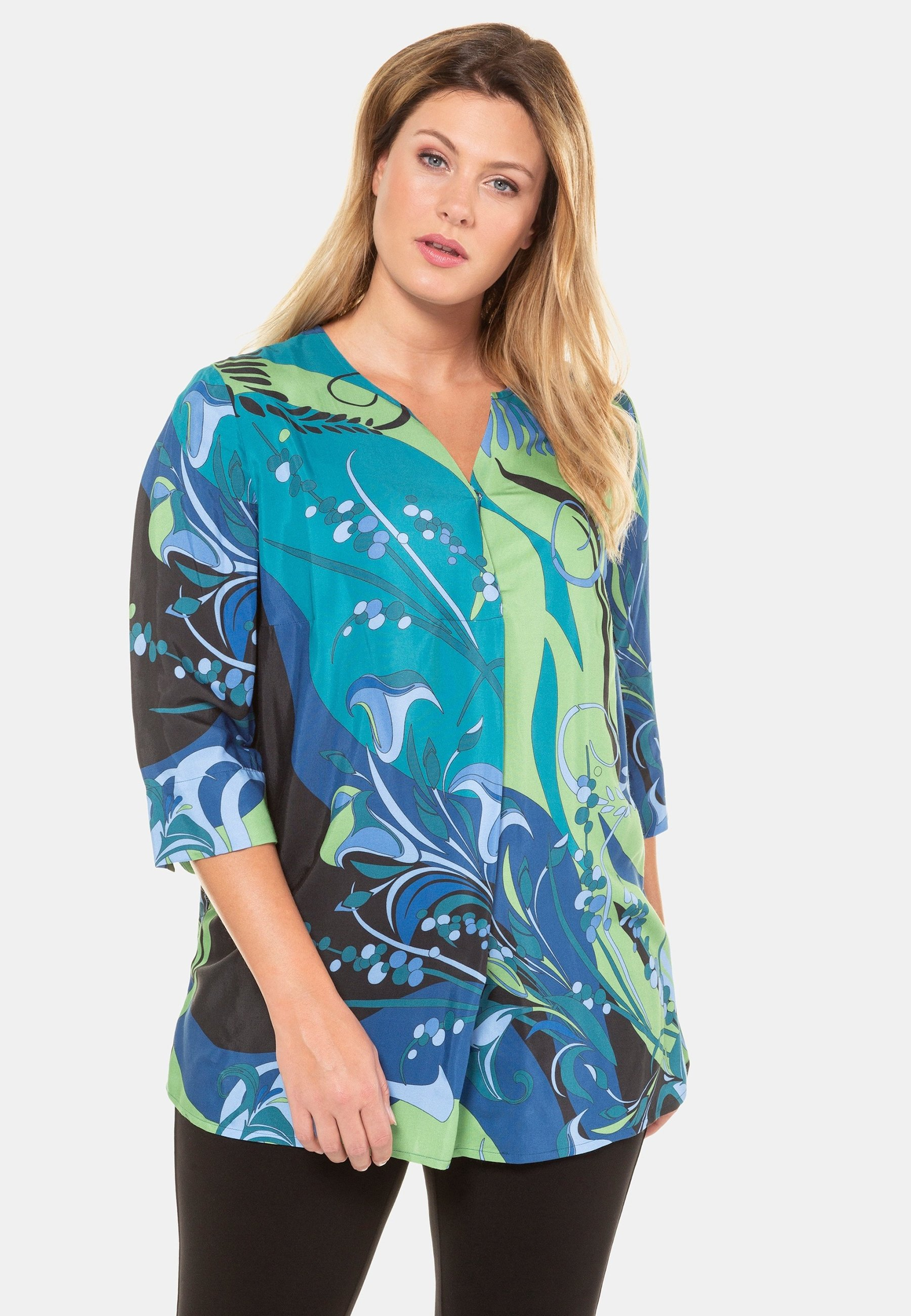 Femme ABSTRACT NOTCH NEC - Blouse