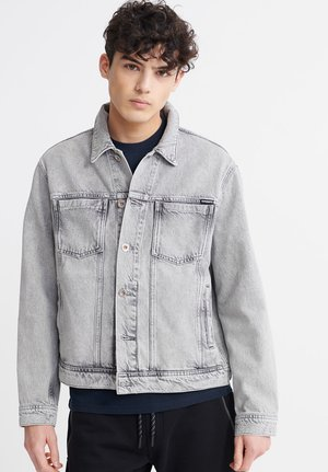 HIGHWAYMAN TRUCKER  - Denim jacket - silver city grey