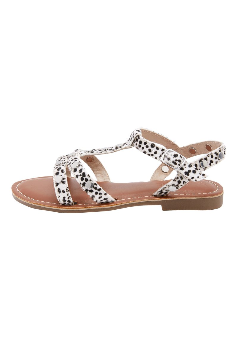 Next - TAN STUD LEATHER SANDALS (OLDER) - Sandals - multi-coloured