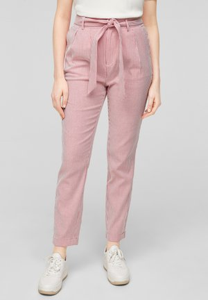 Trousers - true red stripes