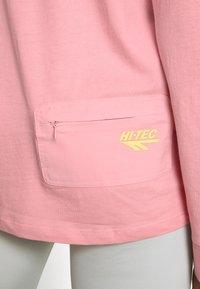 Hi-Tec - ESMUND - Long sleeved top - misty rose - 4