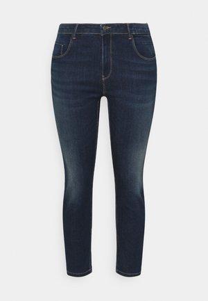 CARANTE LIFE PUSHUP - Jeans Skinny Fit - dark blue denim