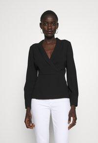 J.CREW TALL - BONNAIRE - Bluse - black - 0