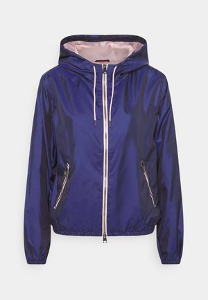 HOODED JACKET - Chaqueta de entrenamiento - blue