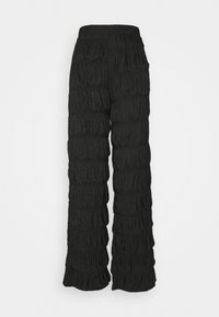 PIECES Tall - PCPOLLY  SMOCK PANTS TALL - Bukse - black - 0
