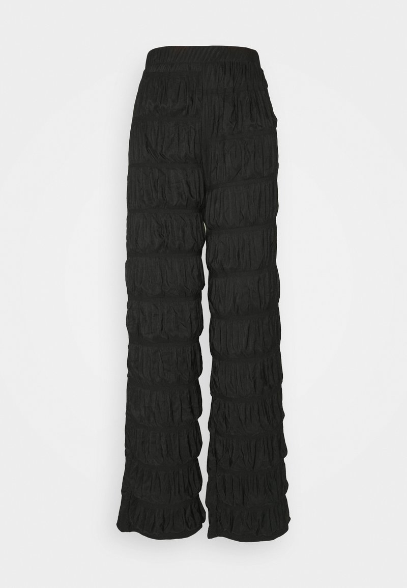 PIECES Tall - PCPOLLY  SMOCK PANTS TALL - Bukse - black