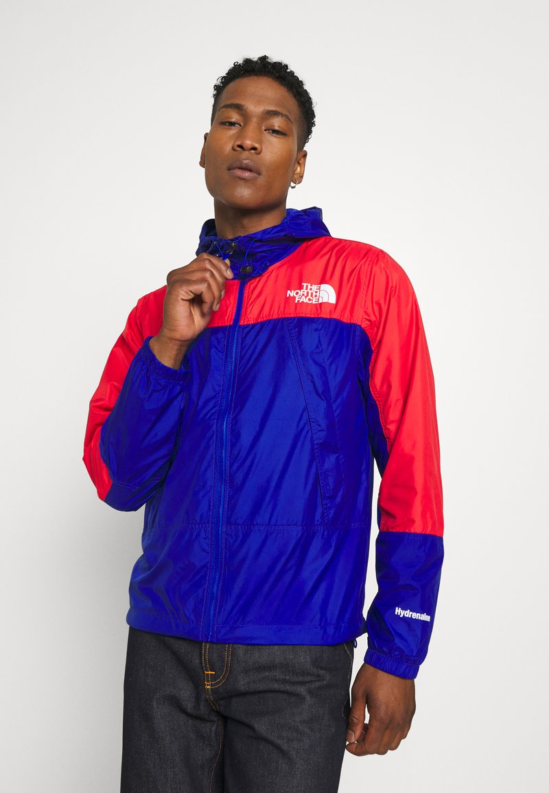 The North Face - HYDRENALINE WIND JACKET - Summer jacket - blue/horizon red