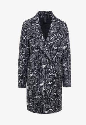 GIRONA - Classic coat - black/white