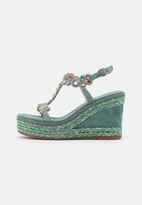 Alma en Pena - Platform sandals - mint - 1