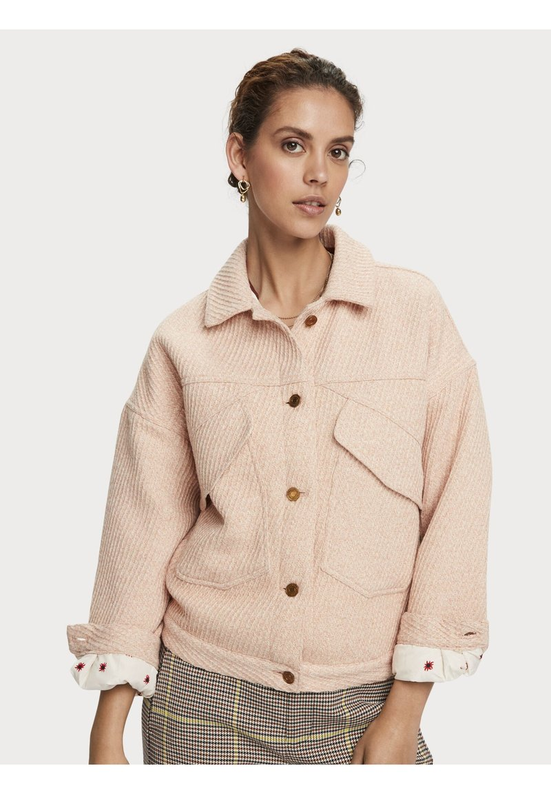 Scotch & Soda - Winterjas - light apricot melange