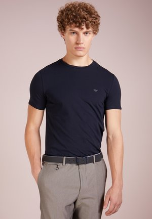 T-shirt basic - blu scuro
