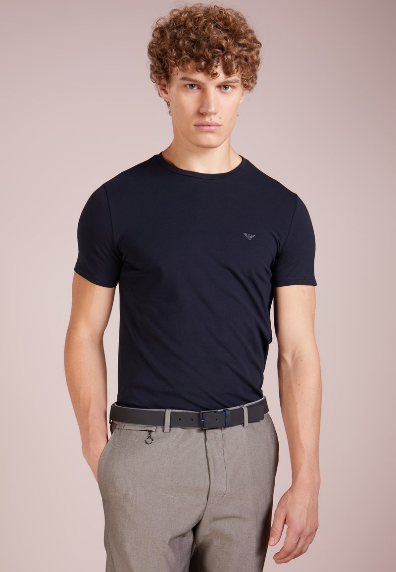 Emporio Armani - Basic T-shirt - blu scuro