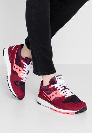 AZURA - Sneaker low - maroon/pink