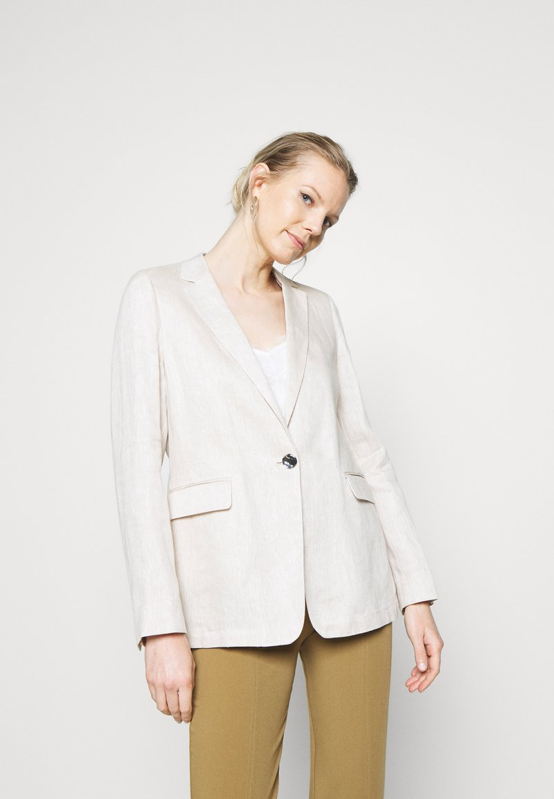 s.Oliver BLACK LABEL - LANGARM - Short coat - beige