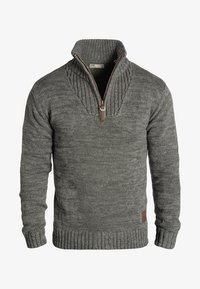 Solid - PHILOSTRATE - Jumper - dark grey - 2