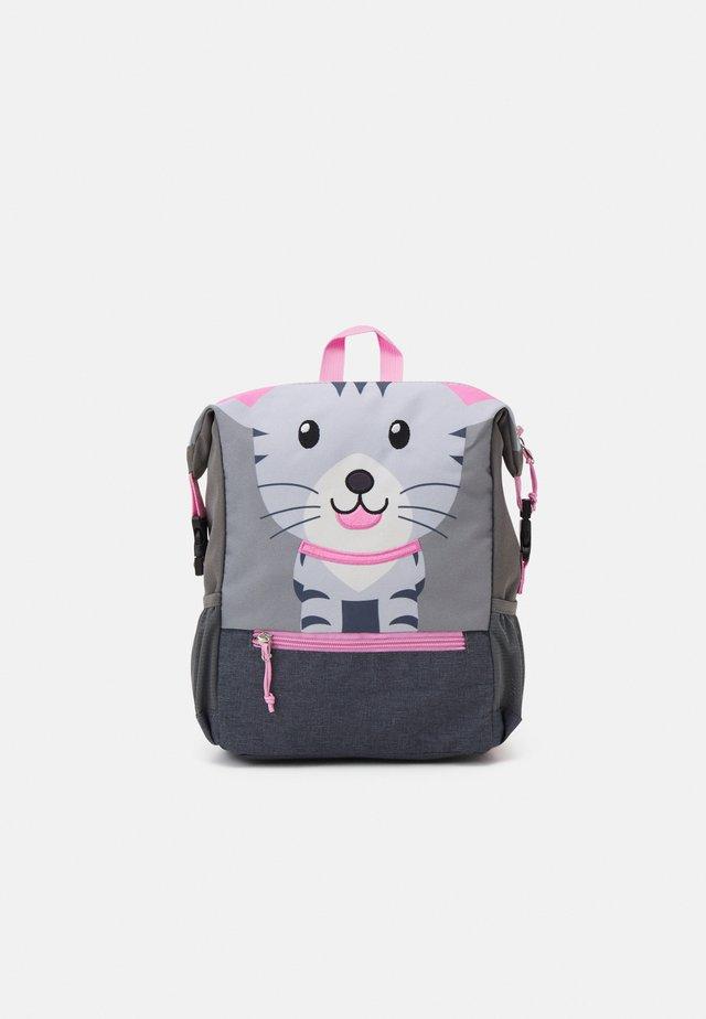 RECYCLED BACKPACK CAT UNISEX - Rucksack - light grey