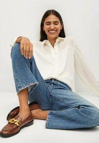Mango - BIMA - Button-down blouse - ecru - 5