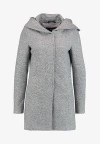 NOOS - Short coat - light grey melange