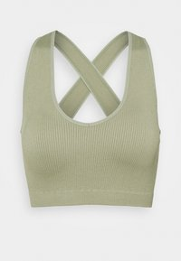 South Beach - NECK CROSS BACK - Toppi - dessert sage - 3