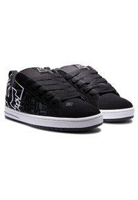 DC Shoes - Sneakers basse - black print - 1