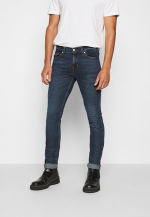 RONNIE CAPTAIN - Slim fit jeans - dark blue
