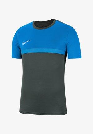 Sports shirt - graublaublauweiss