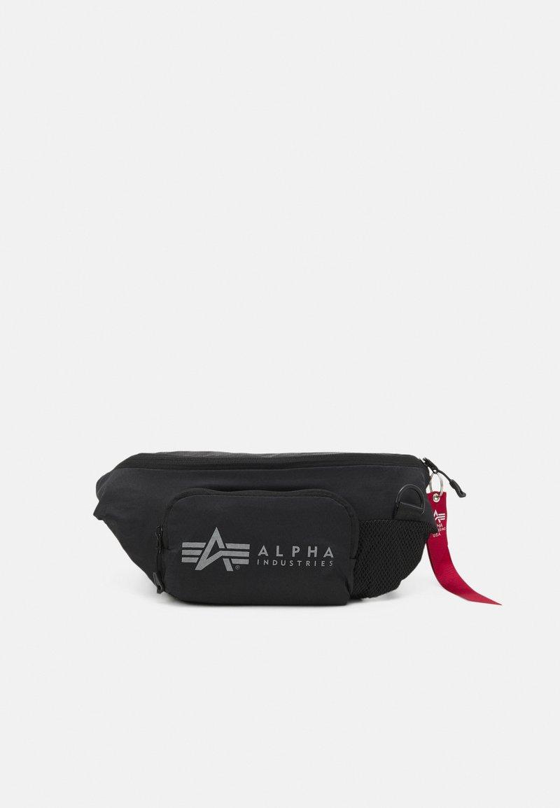 Alpha Industries - PACKABLE WAIST BAG UNISEX - Bum bag - black