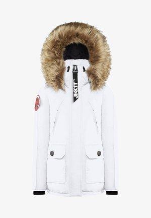 MOUNTAIN BIG BADGE - Dunjakker - off white