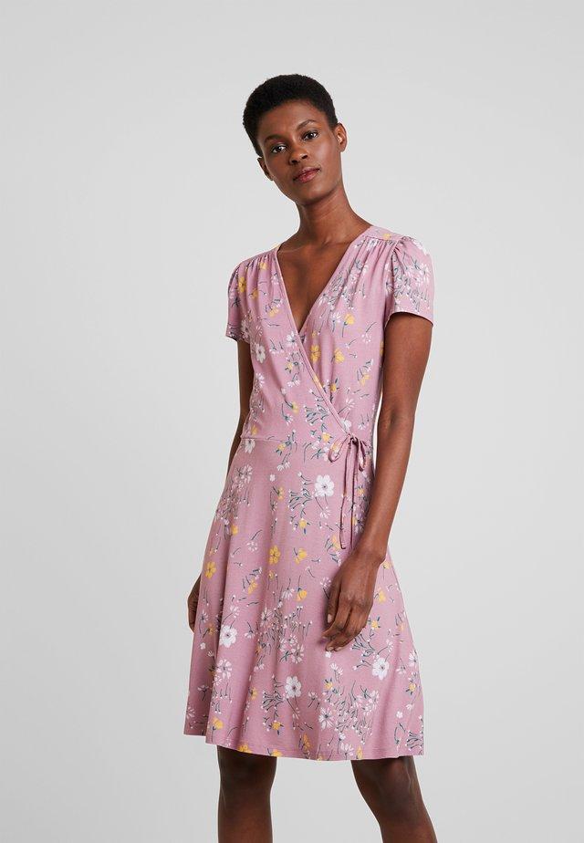 Sukienka z dżerseju - mauve