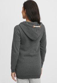 Oxmo - VICKY  - Zip-up hoodie - dar grey m - 2