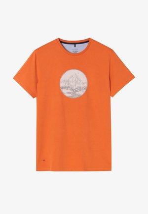 MIKIN - T-shirt print - orange