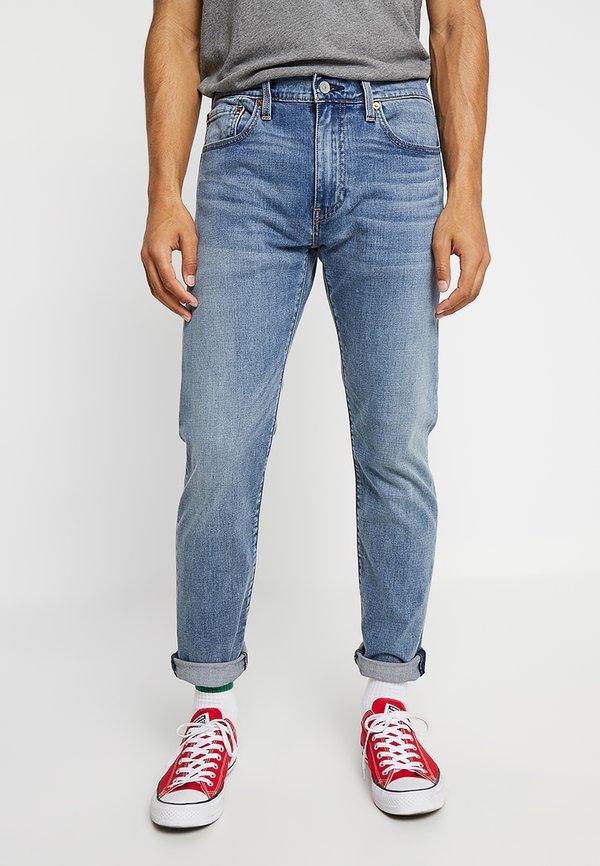 Levi's® 502™ REGULAR TAPER - Jeansy Straight Leg - baltic adapt/niebieski denim Odzież Męska KBRJ