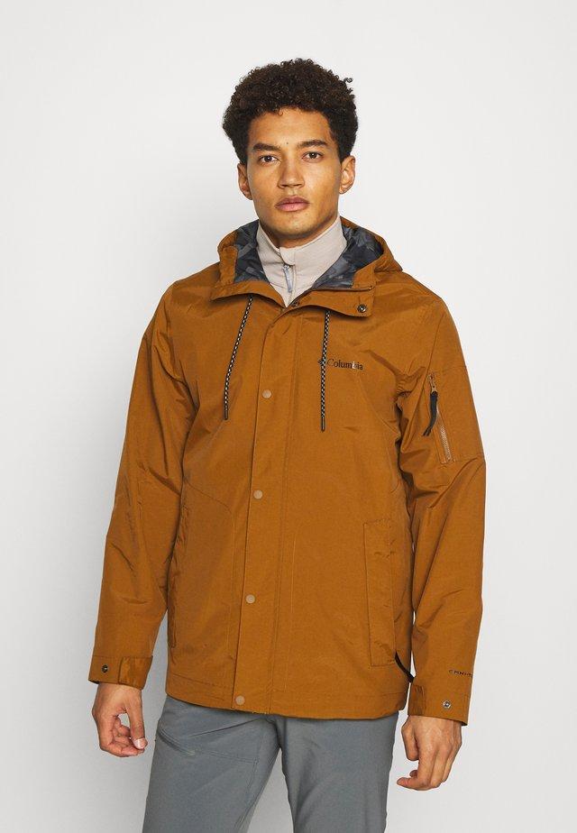 ROYCE RANGE™ JACKET - Outdoorová bunda - walnut