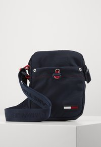 Tommy Jeans - TJM CAMPUS  MINI REPORTER - Across body bag - blue - 0