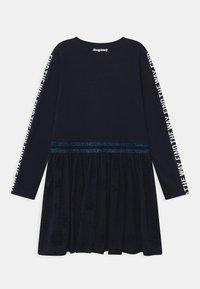 Desigual - DISNEY FROZEN ELSA - Žerzejové šaty - blue - 1