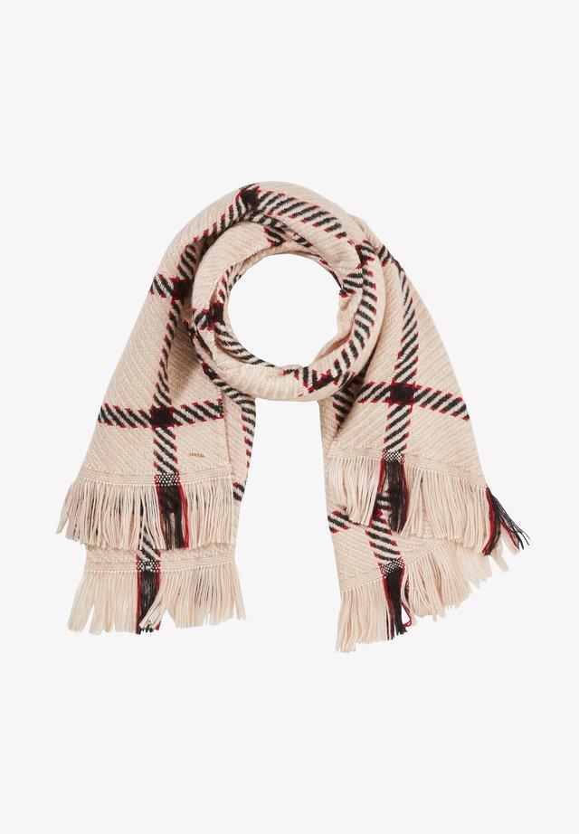 MIT FENSTERKAROS - Scarf - window check scarf