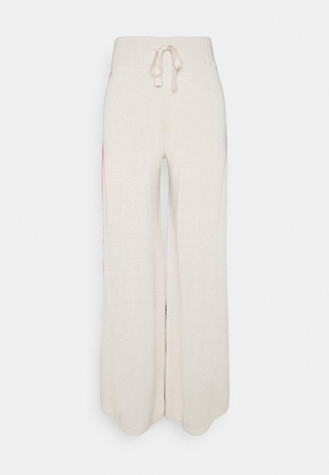 PANTS WOMAN - Kalhoty - beige