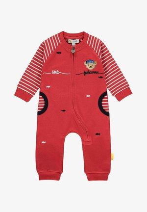 LITTLE FISHERMAN - Jumpsuit - true red