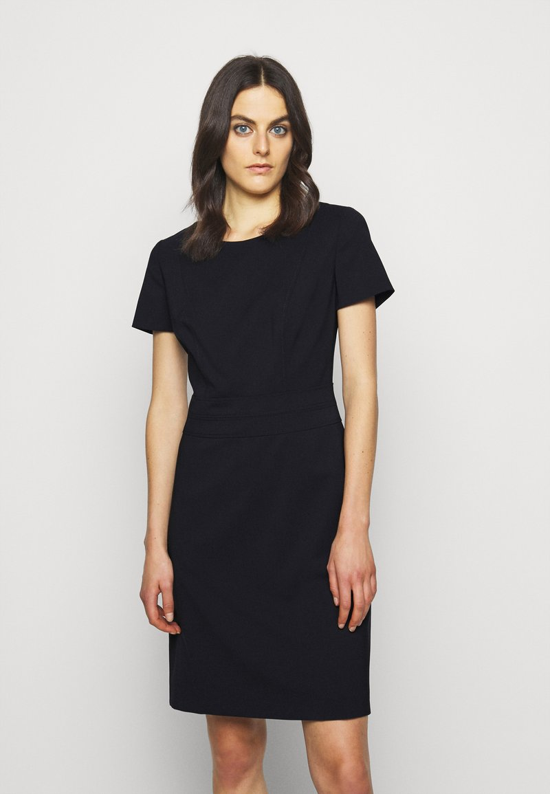 HUGO - KASELLA - Shift dress - dark blue