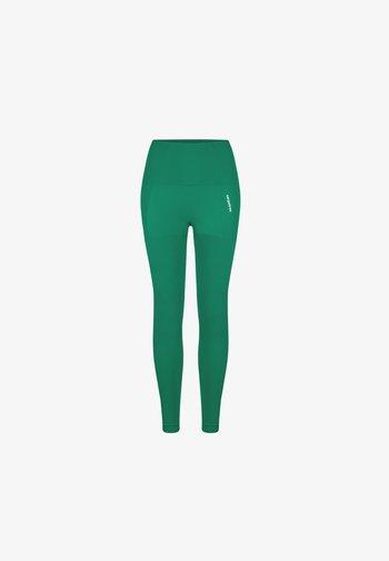 SEAMLESS LEGGINGS MODEL ONE - Leggings - green