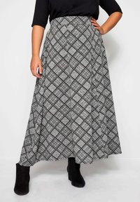 Yours Clothing - Maxi skirt - grey - 0