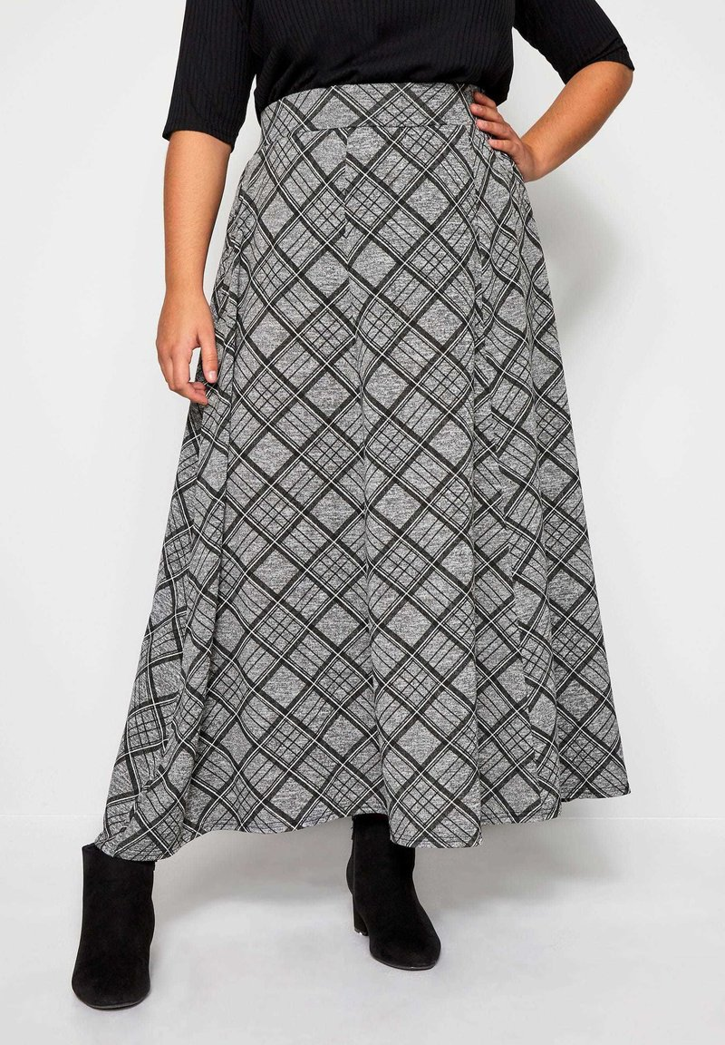Yours Clothing - Maxi skirt - grey