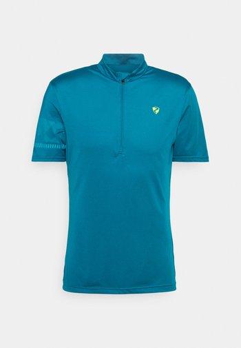 NOBUS MAN  - T-shirt imprimé - crystal blue