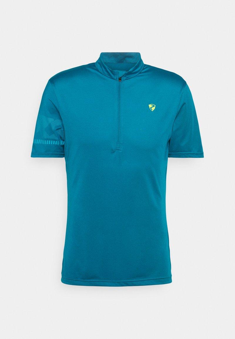 Ziener - NOBUS MAN  - Print T-shirt - crystal blue
