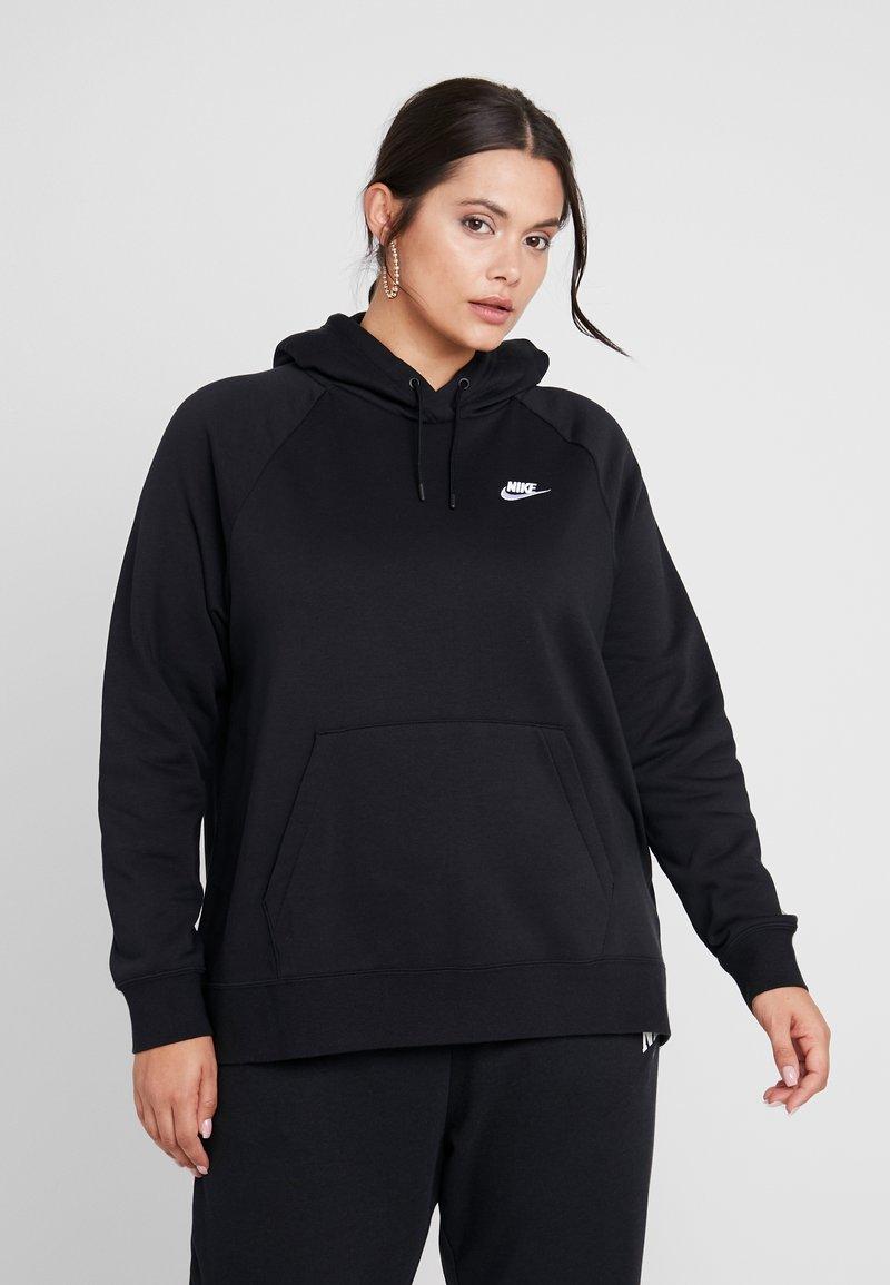 Nike Sportswear - HOODIE PLUS - Hoodie - black