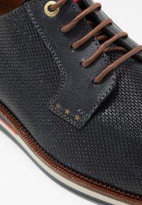 Pantofola d'Oro - FIUGGI UOMO LOW - Derbies - dress blues - 2
