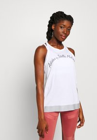 adidas by Stella McCartney - LOGO TANK - Top - white - 0