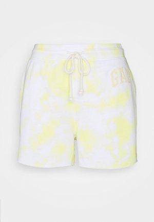 HERITAGE  - Spodnie treningowe - yellow
