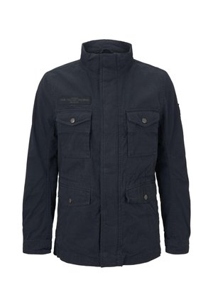WASHED FIELD JACKET - Summer jacket - sky captain blue